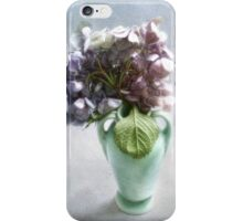 Endless Summer Hydrangea Still Life #2 iPhone Case/Skin