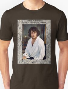 JAMMF in stone frame with engraving. Unisex T-Shirt