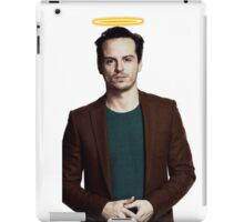 Andrew Scott with a halo iPad Case/Skin
