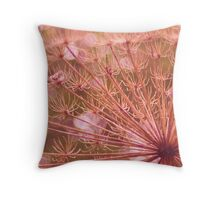 Soft red imagination  Throw Pillow
