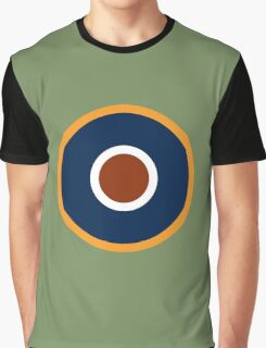 Royal Air Force - Historical Roundel Type C.1 1942 - 1947 Graphic T-Shirt