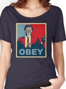 They Live - Obey Women's Relaxed Fit T-Shirt