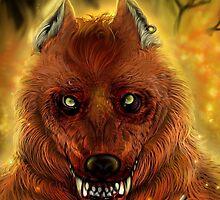 Fire Wolf by Furiarossa