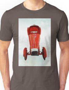 vintage race car in watercolor Unisex T-Shirt