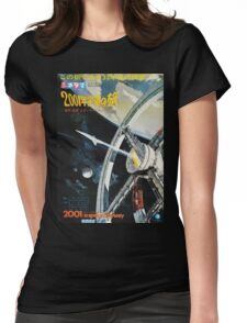 2001: A Space Odyssey  Womens Fitted T-Shirt