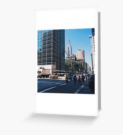 Sixth Avenue Empire Greeting Card