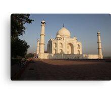 The Taj Mahal at Sunrise Canvas Print