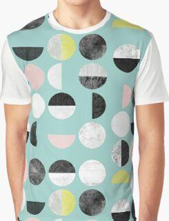 Half Circles Graphic T-Shirt