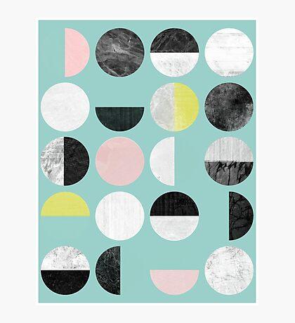Half Circles Photographic Print