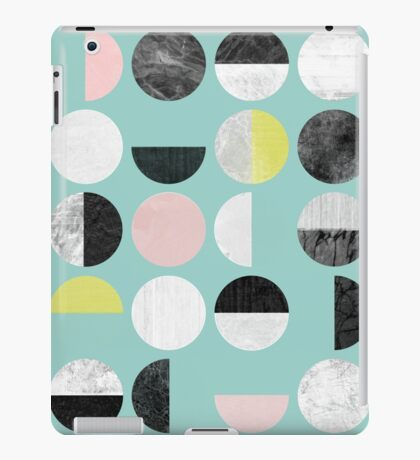 Half Circles iPad Case/Skin