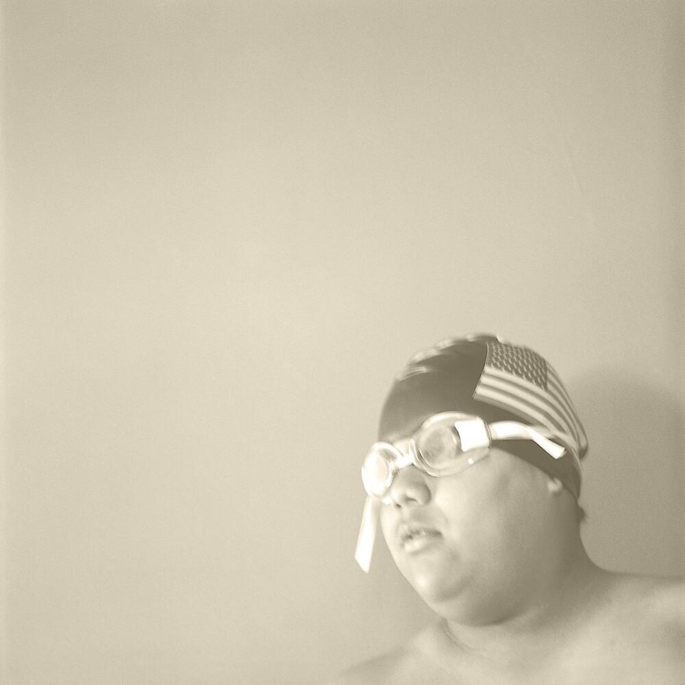 Swim Cap and Goggles by YoPedro