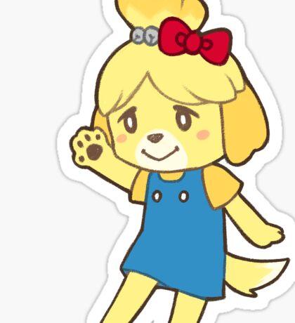 [Animal Crossing] Hello Kitty x Isabelle Sticker