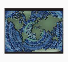 World Oceans Mandala One Piece - Short Sleeve