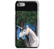 Unicorn in the Forest iPhone Case/Skin