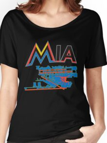 Miami Airport Women's Relaxed Fit T-Shirt