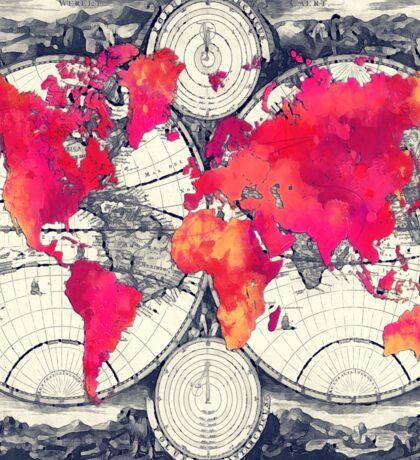 World map 10 Sticker