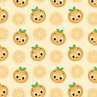 Little Orange Bird Pattern by epcotfigment
