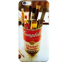 Soup Can Pencil cup iPhone Case/Skin