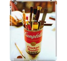 Soup Can Pencil cup iPad Case/Skin