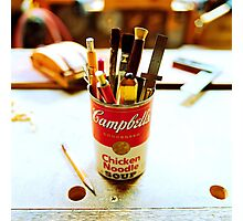 Soup Can Pencil cup Photographic Print