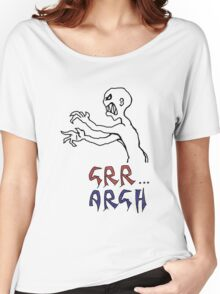 grr...argh with colour Women's Relaxed Fit T-Shirt