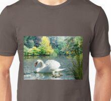 Swan & Cygnets Unisex T-Shirt
