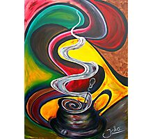 Ode to Coffee.. Photographic Print
