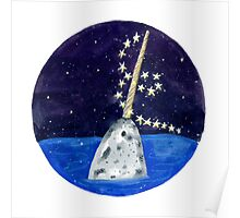 Narwhal Magic Poster