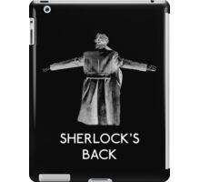 Sherlock's Back iPad Case/Skin