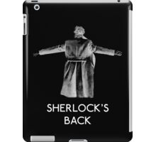 Sherlock's Back iPad Case/Skin