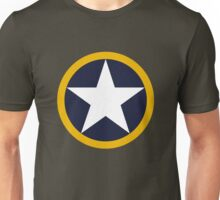 US Historical Roundel 1942 Torch Unisex T-Shirt