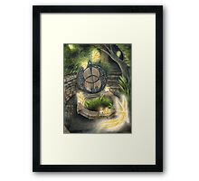 Once Upon A Full Moon Framed Print