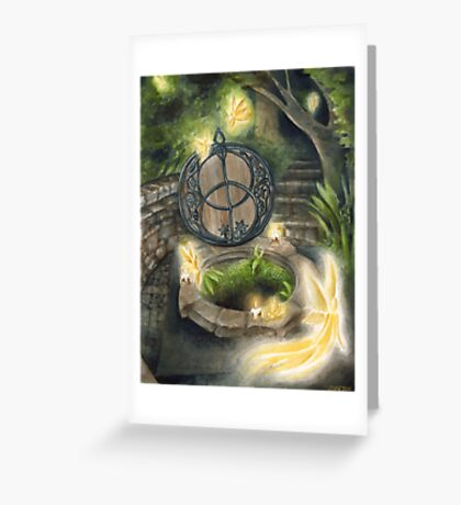 Once Upon A Full Moon Greeting Card