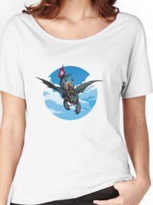 Toothless Targaryen Blue Women's Relaxed Fit T-Shirt