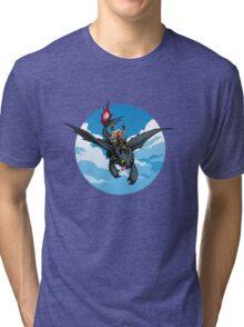 Toothless Targaryen Blue Tri-blend T-Shirt