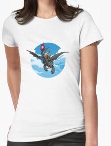 Toothless Targaryen Blue Womens Fitted T-Shirt