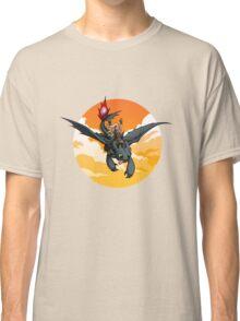 Toothless Targaryen Orange Classic T-Shirt