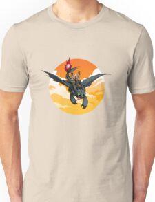 Toothless Targaryen Orange Unisex T-Shirt