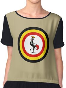 Uganda Air Wing - Roundel Chiffon Top