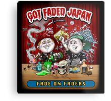 GOT FADED JAPAN PODCAST Metal Print