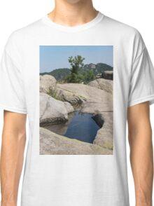 Ancient Thracian Reservoir at Belintash  Classic T-Shirt