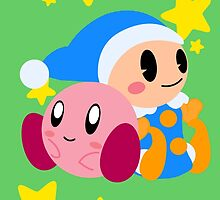 Kirby and Poppy Bros. by DragoonBoo