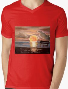 Kristi's Moon Mens V-Neck T-Shirt