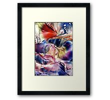 Pleiades above Framed Print
