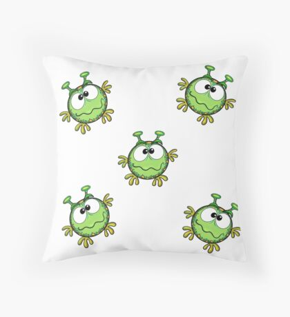 Baby monsters Throw Pillow