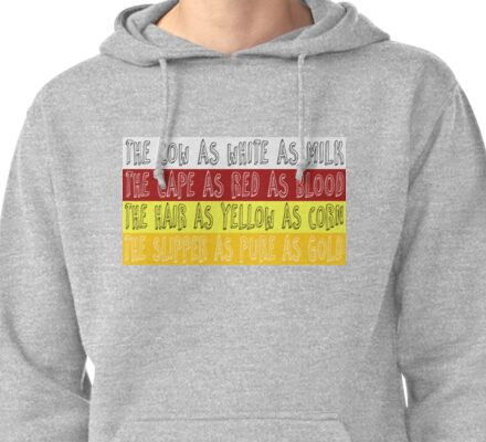 Into The Woods - 4 Items Pullover Hoodie