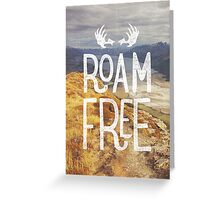 Roam Free - NZ Greeting Card