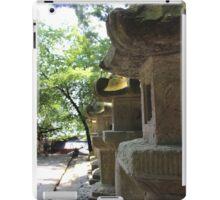Ishi-dōrō (Japanese Stone Lantern) iPad Case/Skin