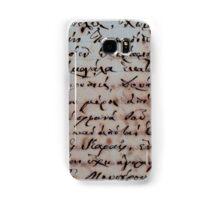 greek ancient writing Samsung Galaxy Case/Skin