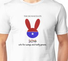 Vote Bunnicrat! Unisex T-Shirt